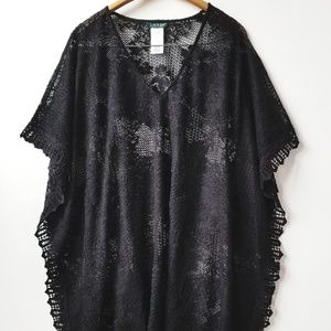 LAUREN RALPH LAUREN Lace Poncho and/or Cove
